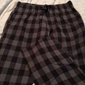 Men's Old Navy Fleece PJ Pants